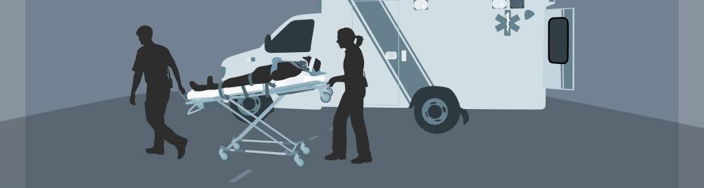 Injured bicyclist